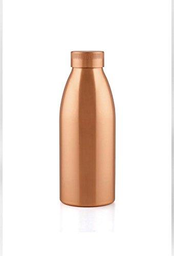 Aayu Go Seamless Copper Bottle , 100% Copper Bottle , 500ML