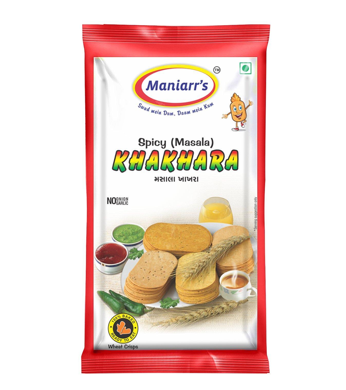MASALA Khakhra (pack of 8) - Unnati Enterprises