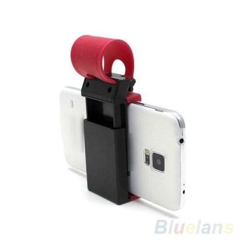 Car Mobile Holder For Phone on Steering