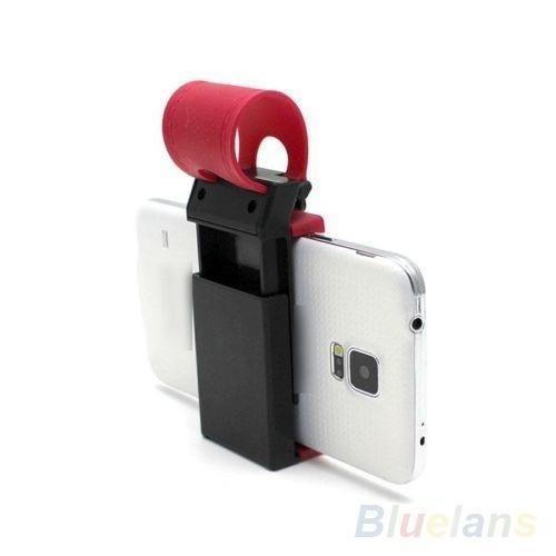 Car Mobile Holder For Phone on Steering
