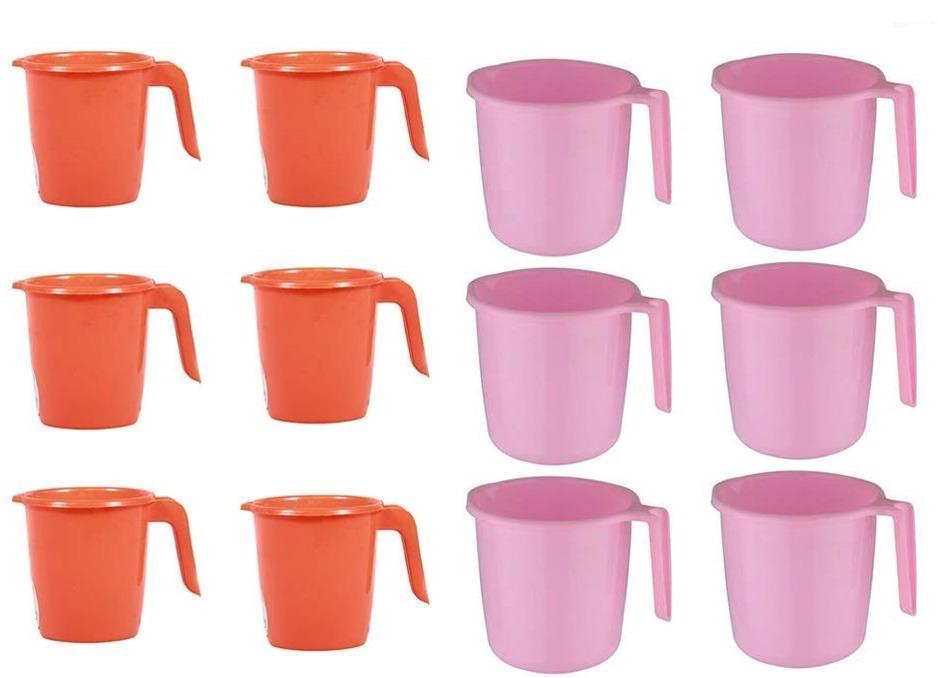 Unnati -  Bathroom Accessories & Organization - Deluxe Plastic Mug for Bathroom - Unnati Enterprises