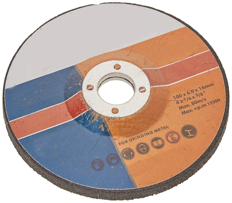 """Metal/Stainless Steel  Grinding  Wheel 4"""" (x 6 x 16 mm) - Unnati Enterprises"""