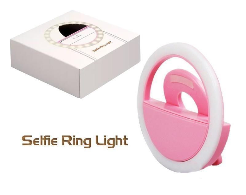 Rechargeable Night LED Selfie Flash Light - Unnati Enterprises