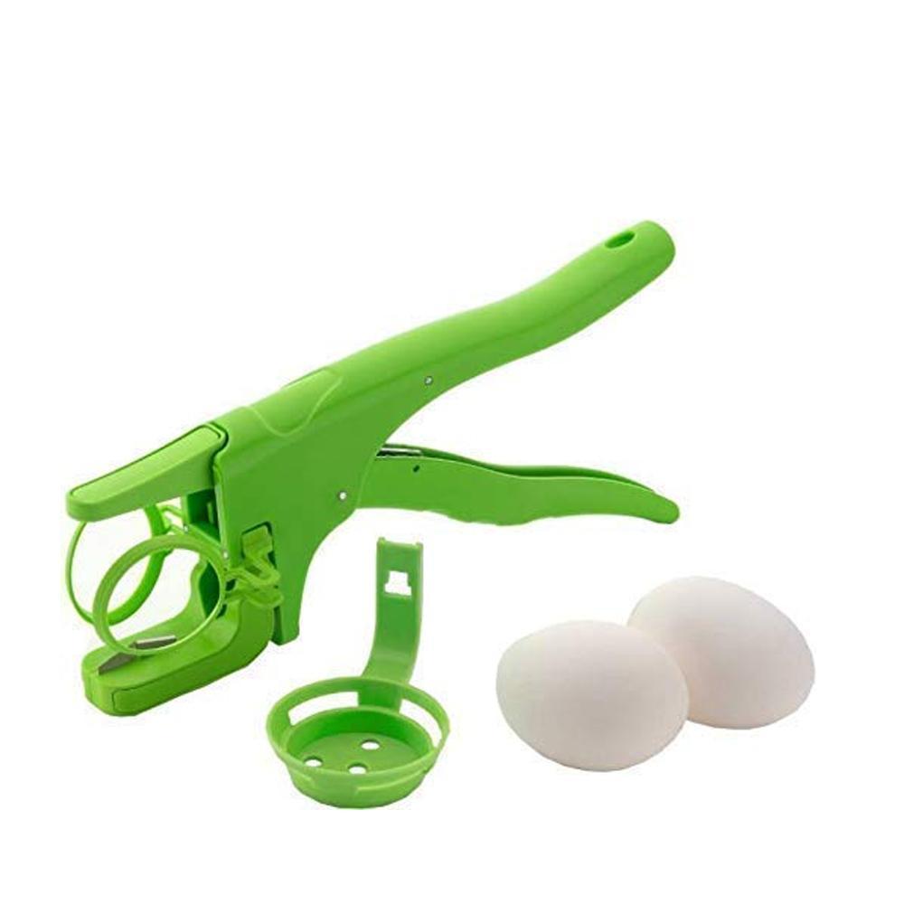 Plastic Handheld Egg Cracker with Separator - Unnati Enterprises