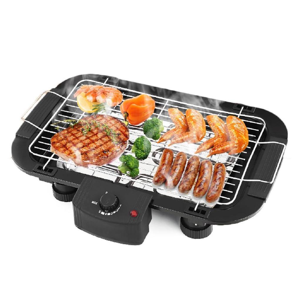 Smokeless Electric Indoor Barbecue Grill, 2000w - Unnati Enterprises