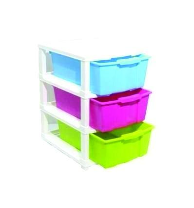 Multipurpose Modular Drawer Organizer Storage Box - 3 Layers - Unnati Enterprises