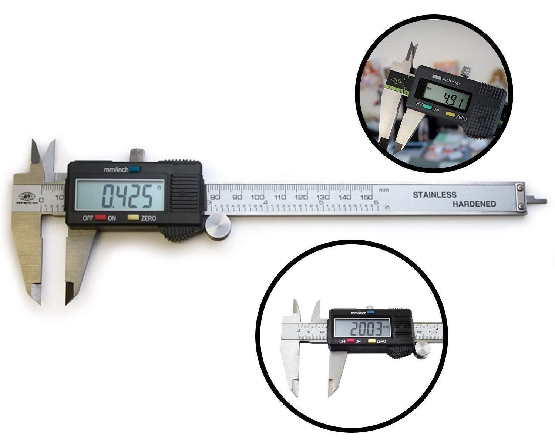 LCD Screen Digital Caliper (6 inch) - Unnati Enterprises