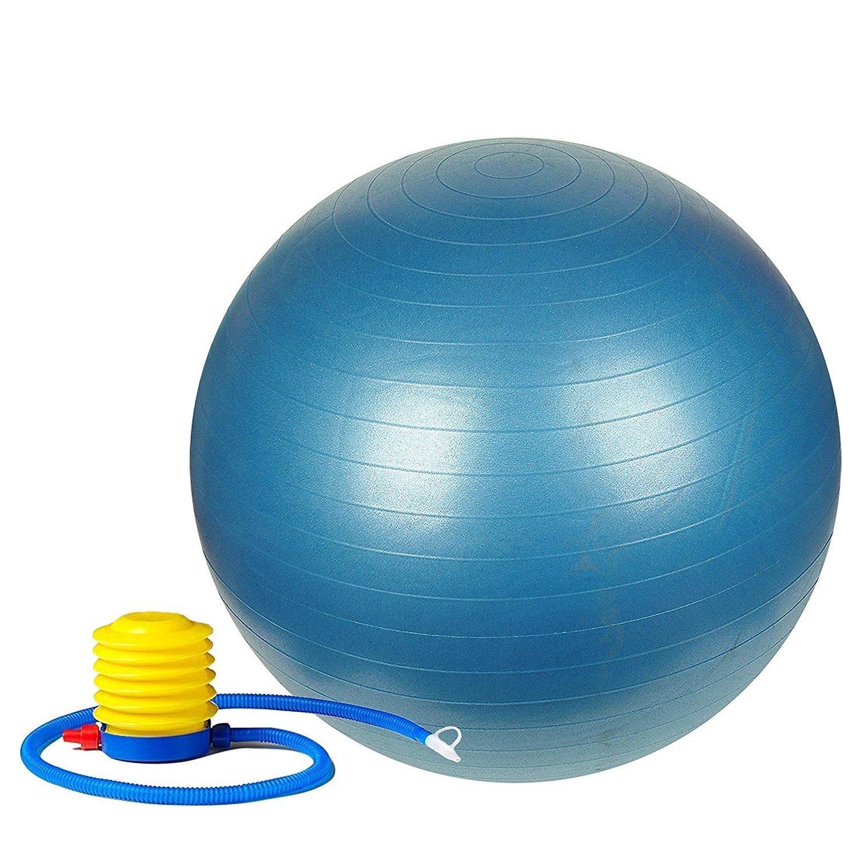Anti-Burst Gym Ball with Pump (75 cm) - Unnati Enterprises