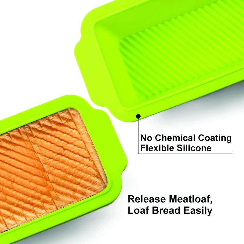Silicone Square Baking Loaf Mould Tray - Unnati Enterprises