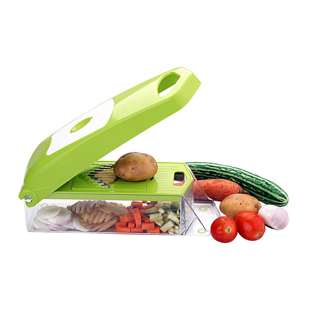 2025 Maitri Plastic 12-in-1 Jumbo Manual Vegetable Grater, Chipser and Slicer - Unnati Enterprises