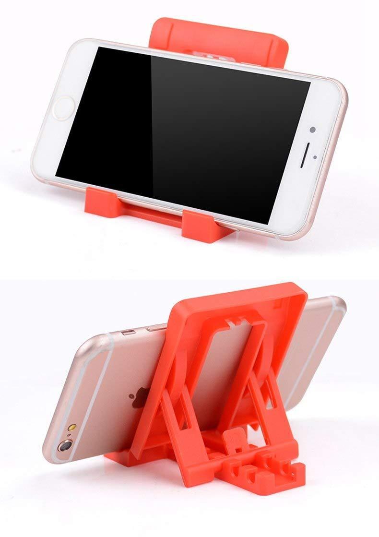 Adjustable 4 Steps Foldable Mobile Stand Holder (1 pc) - Unnati Enterprises