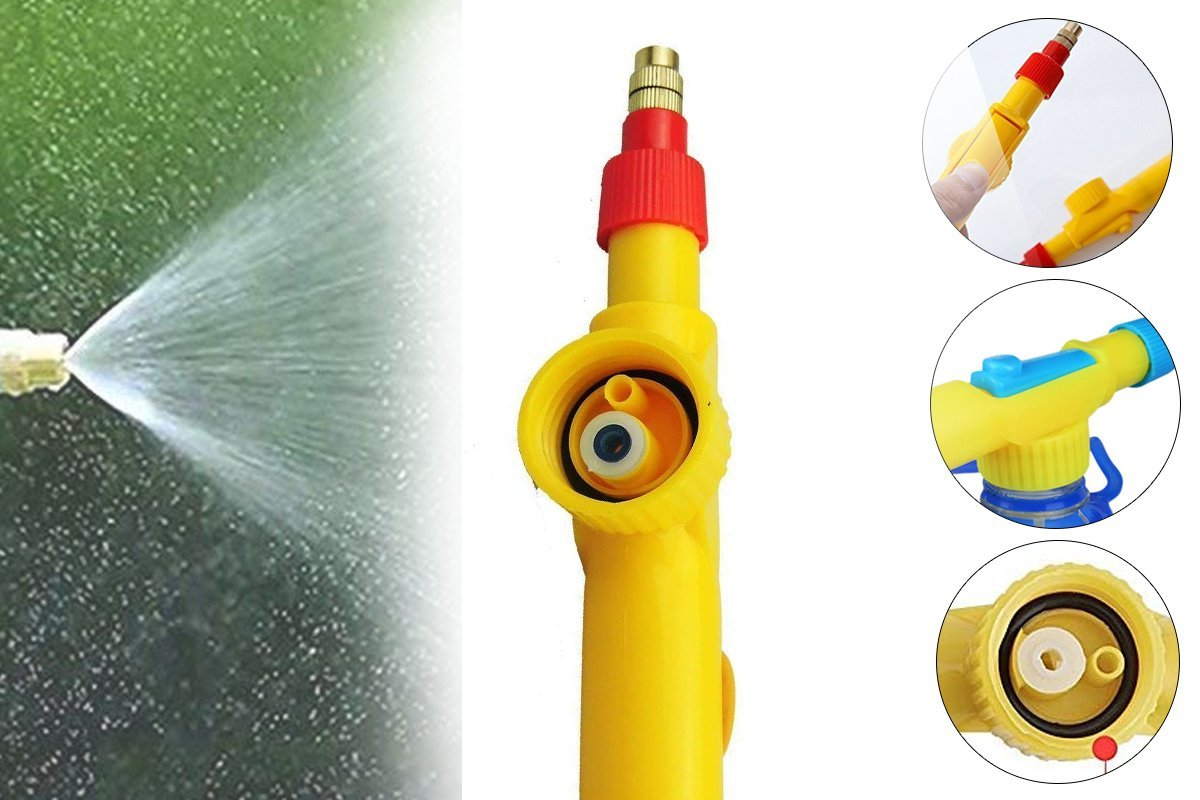 Bottle Sprayer for Plants Garden Pesticide Car Wash with Adjustable Brass Nozzle Sprayer (Handheld Pump) - Unnati Enterprises