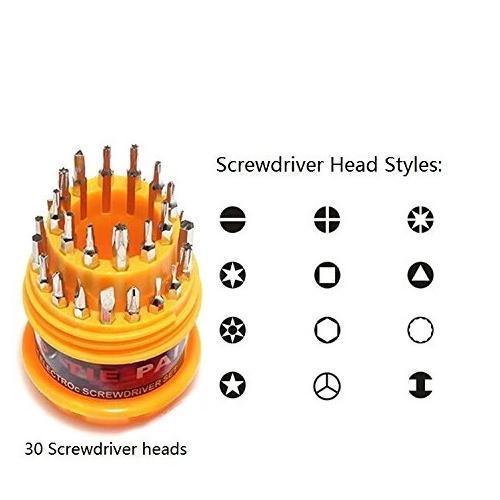 Magnetic 31 in 1 Repairing ScrewDriver Tool Set Kit - Unnati Enterprises