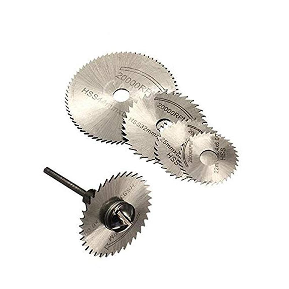 6pcs Metal HSS Circular Saw Blade Set Cutting Discs for Rotary Tool - Unnati Enterprises