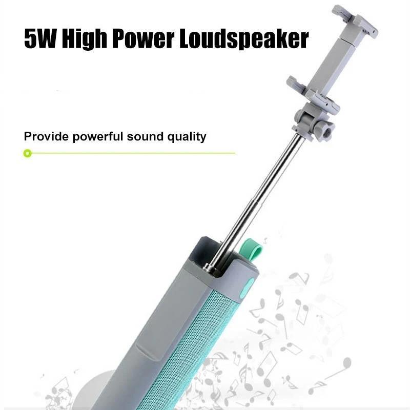 4 In 1 Selfie Stick with Bluetooth Speaker & Power Bank - Unnati Enterprises