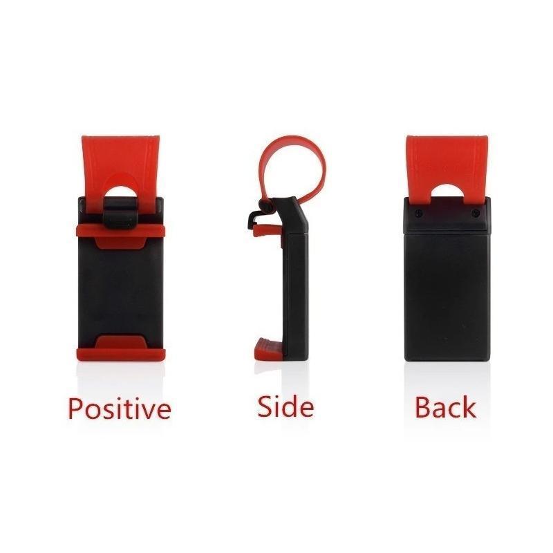 Car Mobile Holder For Phone on Steering Size 5.5 Inch - Unnati Enterprises