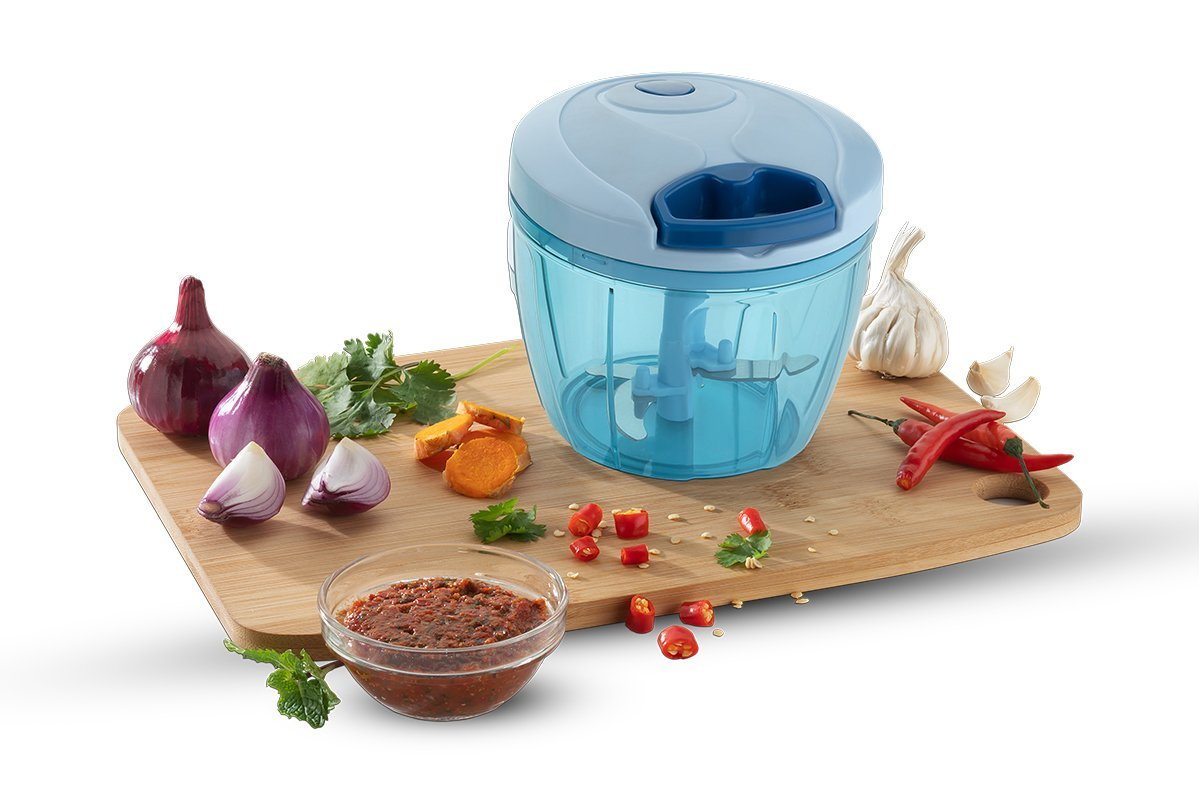 Compact & Powerful Hand Held Vegetable Chopper (650ml) - Unnati Enterprises