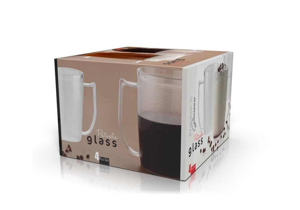 Stylish look Patiala Glass, Transparent Glasses - Unnati Enterprises