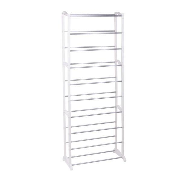 Stackable Shoe Rack Storage Shelves (10 Tier) - Unnati Enterprises
