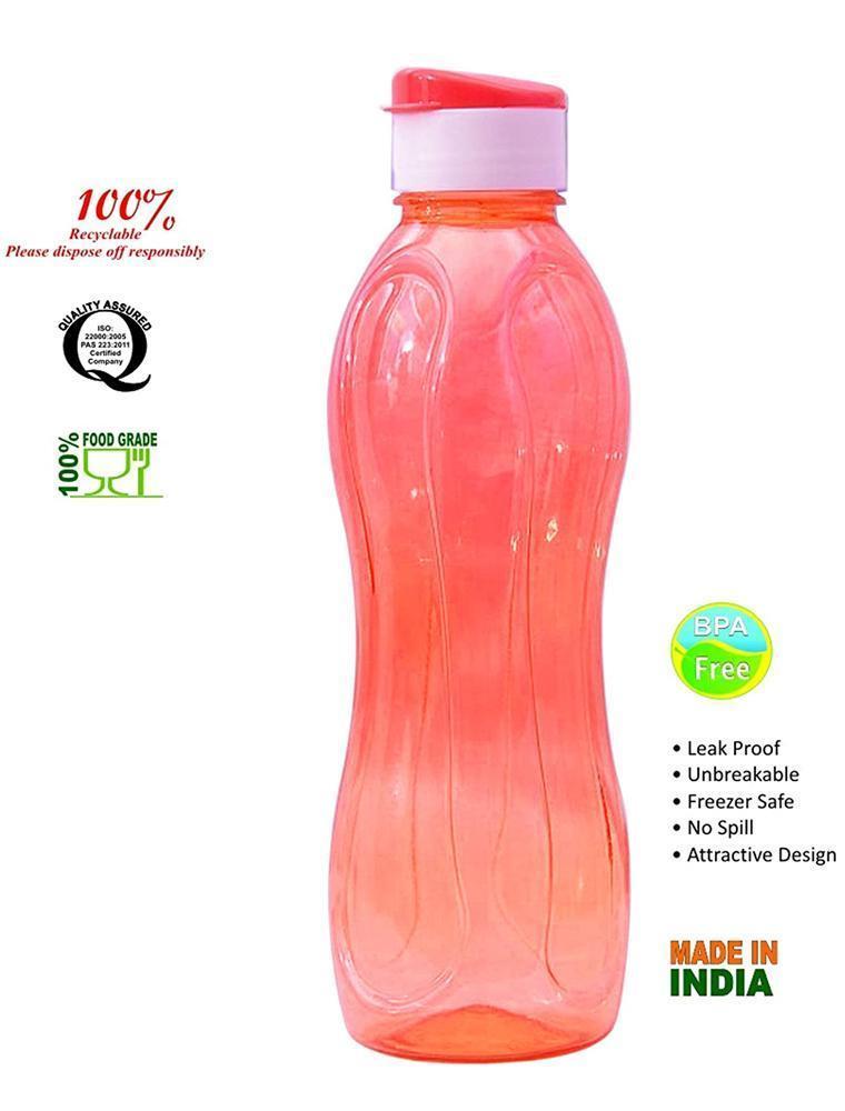 Flip Cap Plastic Water Bottles - Unnati Enterprises