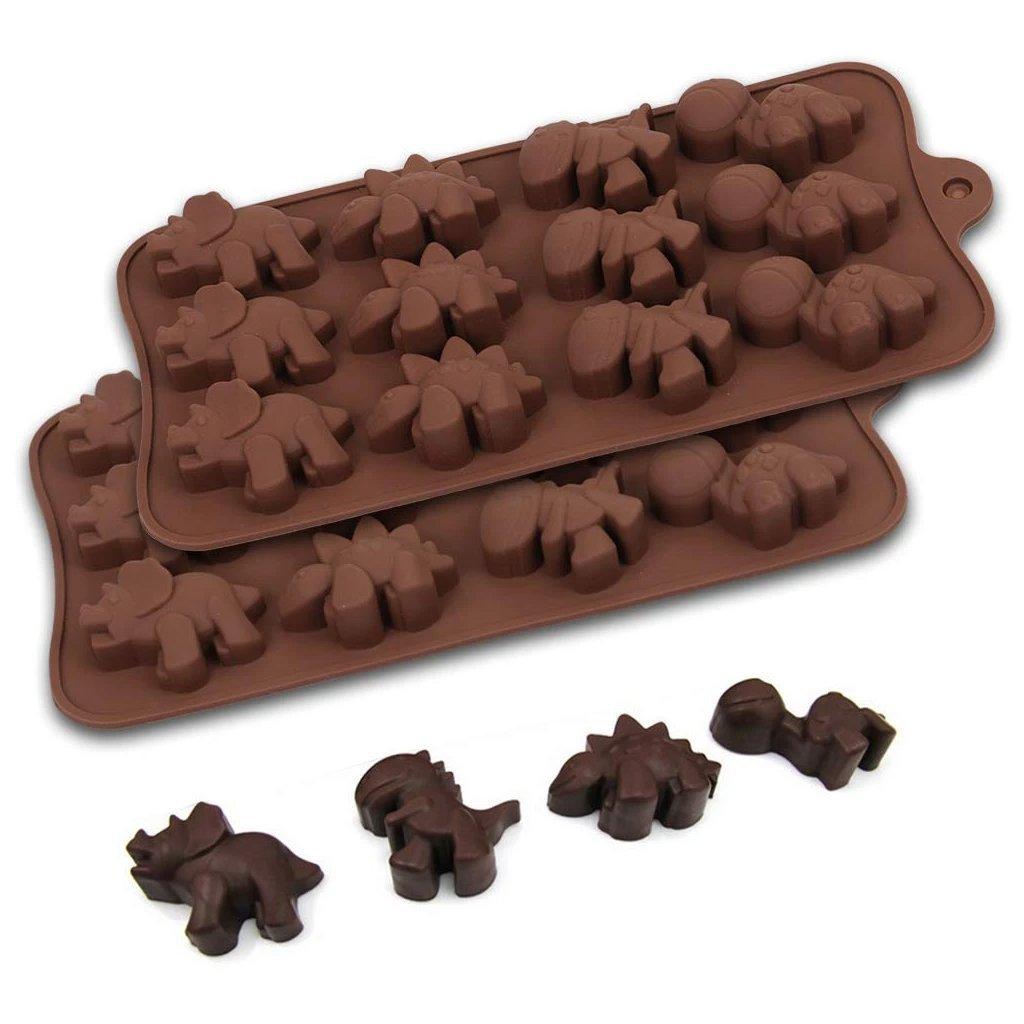 Silicon Chocolate Molds, Candy Making Silicone Molds, Mini Baking Molds (Random Design 1 unit) - Unnati Enterprises