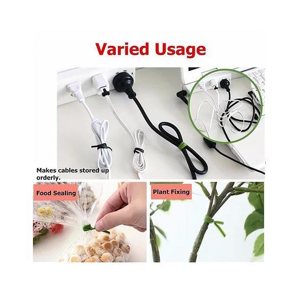 Plastic Twist Tie Wire Spool With Cutter For Garden Yard Plant 50m (Green) - Unnati Enterprises