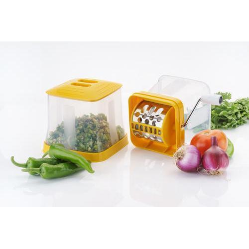 Big Onion & Chilly Cutter Vegetable Chopper (Multicolor) - Unnati Enterprises