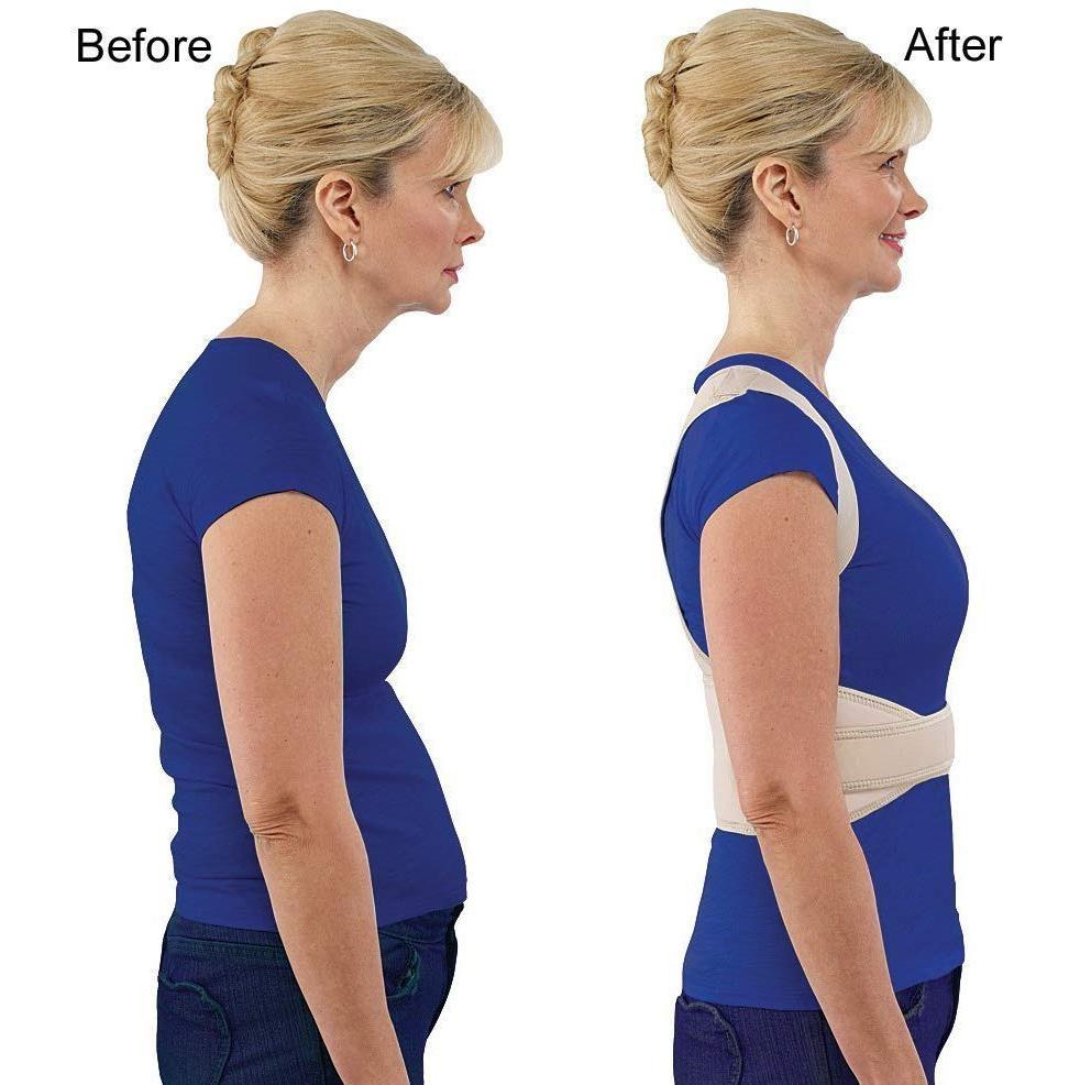 Adjustable Royal Posture Back Support Brace Unisex - Unnati Enterprises