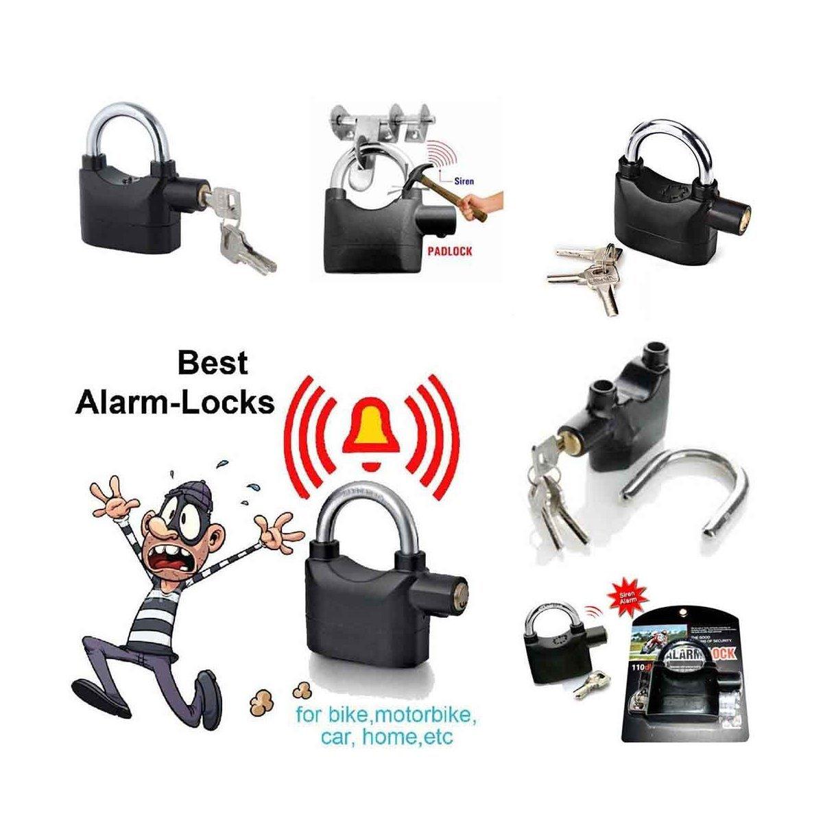 Anti Theft Security Pad Lock with Smart Alarm - Unnati Enterprises