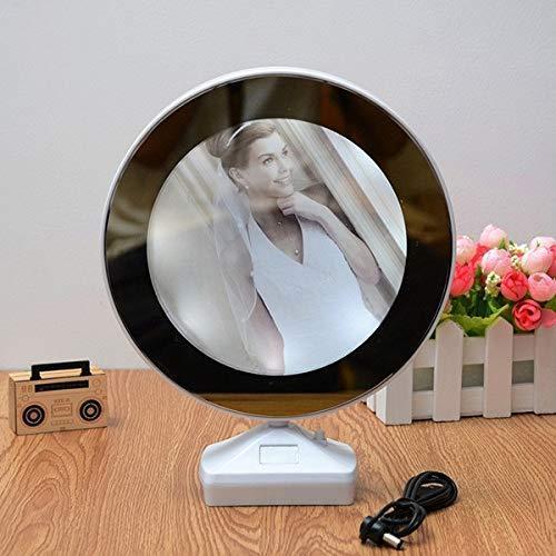 Plastic 2 in 1 Mirror Come Photo Frame with Led Light - Unnati Enterprises