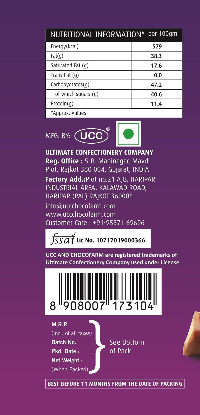Chocolate almonds (96 GMs) - Unnati Enterprises