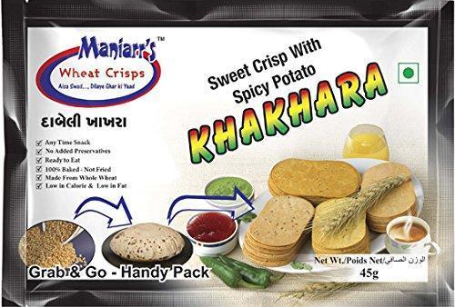 Dabeli Khakhra (Pack of 8) - Unnati Enterprises