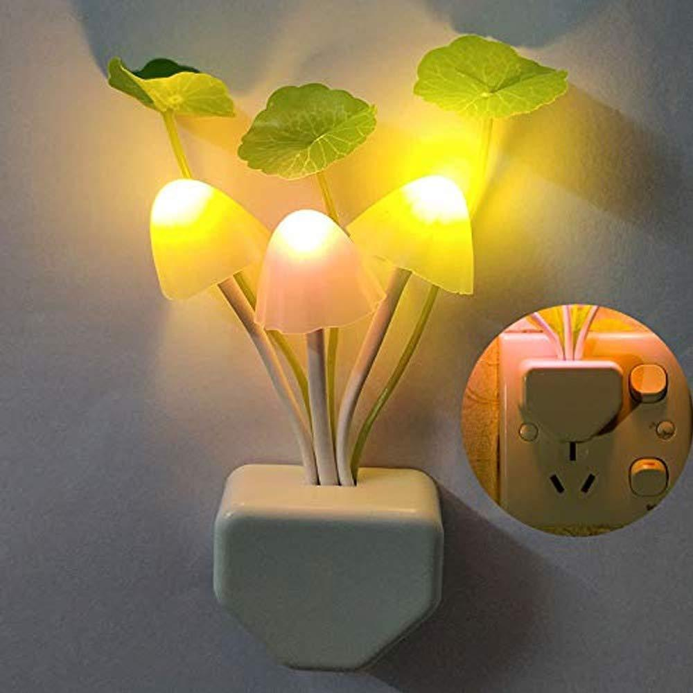 Night Light Mushroom Lamp (Colorful) - Unnati Enterprises