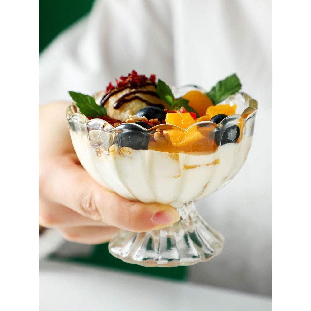 Serving Dessert Bowl Ice Cream Salad Fruit Bowl - 6pcs Serving Dessert Bowl Ice Cream Salad Fruit Bowl - 6pcs - Unnati Enterprises