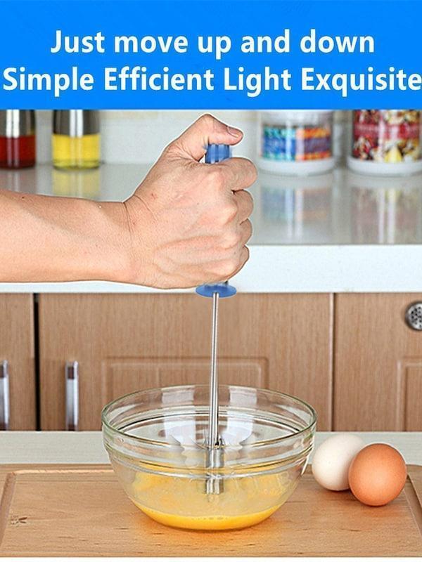 Stainless Steel Mix Egg / Lassi / Butter Milk Maker / Mixer Hand Blender - Unnati Enterprises