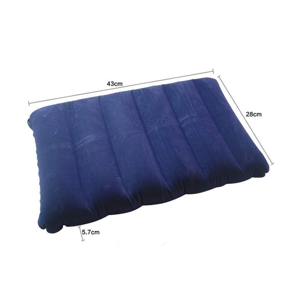 Velvet Air Inflatable Travel Pillow (Blue) - Unnati Enterprises