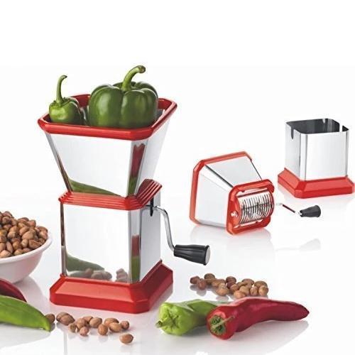 Stainless Steel Vegetable Cutter Chopper (Chilly Cutter) - Unnati Enterprises