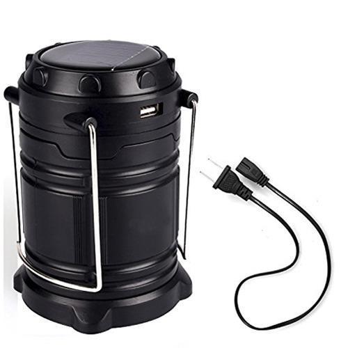 Rechargeable Camping Lantern LED Solar Emergency Light Bulb - Unnati Enterprises