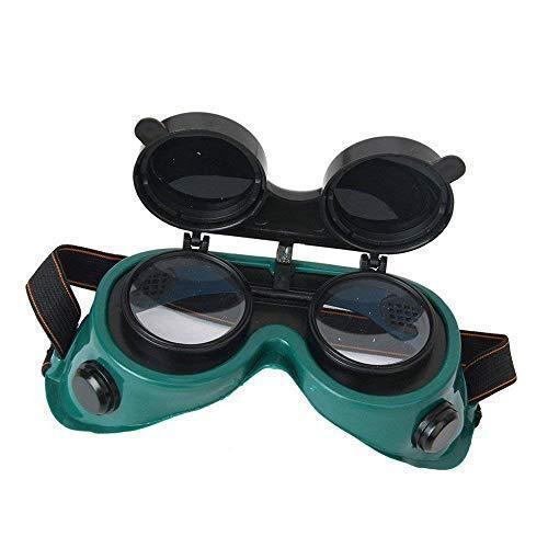 Welding Goggles (Dark Green, Large) - Unnati Enterprises