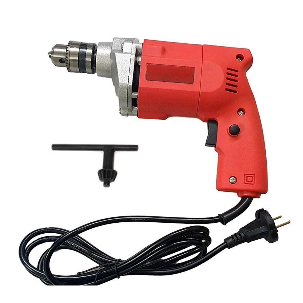 Unnati -  Power Tools 10MM - 450W, 2600 Rpm, 220V- 50Hz Electric Drill Machine with 13 Pieces Bits Set - Unnati Enterprises