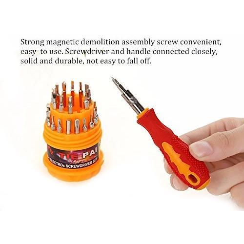 Unnati -  31in1 10mm 2600 Rpm, 220V- 50Hz Electric Drill Machine with Magnetic Screw Driver - Unnati Enterprises
