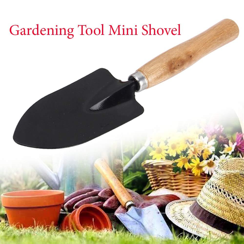 Unnati -  Gardening Tools - Falcon Gloves, Flower Cutter/Scissor & Garden Tool Wooden Handle (3pcs-Hand Cultivator, Small Trowel, Garden Fork) - Unnati Enterprises
