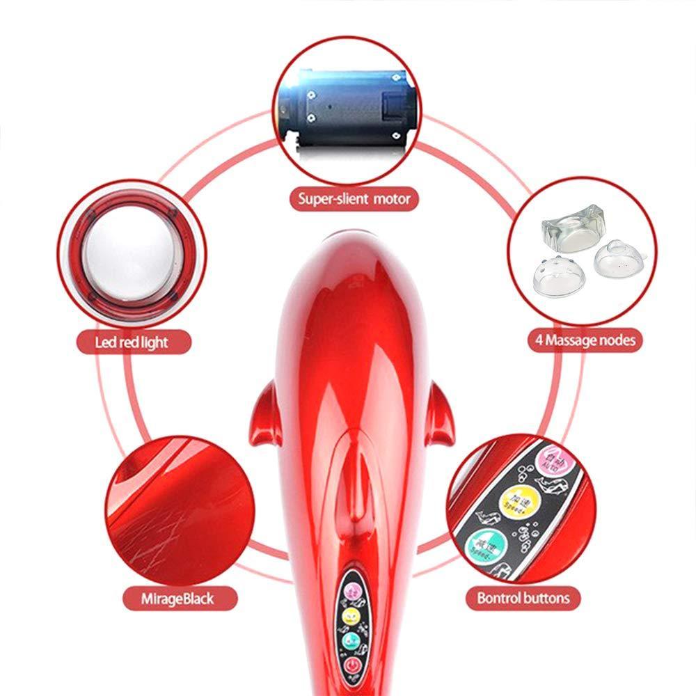 3 in 1 Dolphin Handheld Massager - Unnati Enterprises