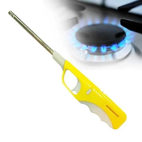 Plastic Adjustable Flame & Gas refillable Lighter (Multicolour) - Unnati Enterprises