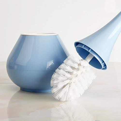 2 in 1 Plastic Cleaning Brush Toilet Brush with Holder - Unnati Enterprises