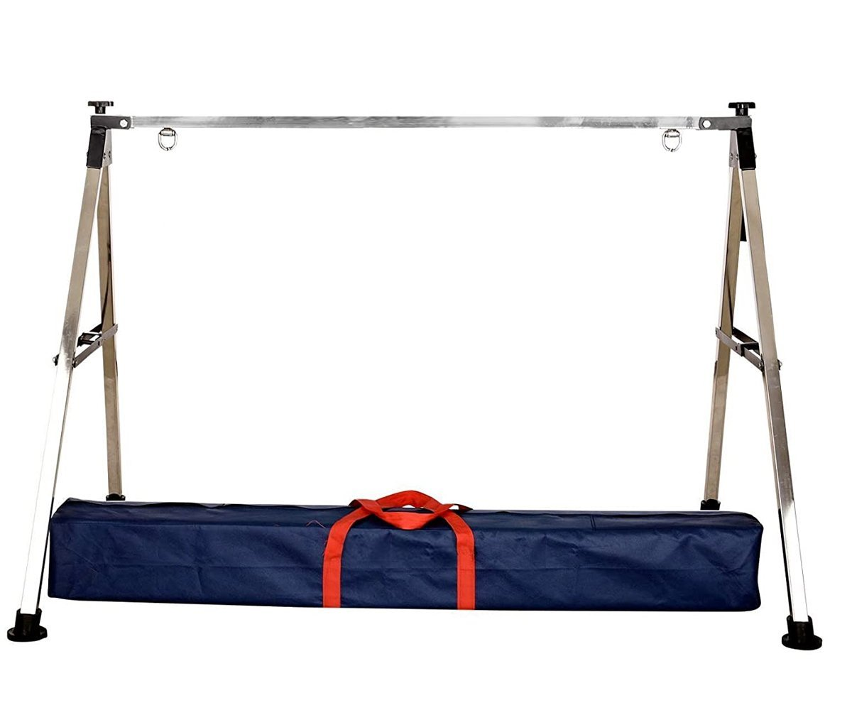 Folding Stainless Steel Baby Cradle with Carry Bag - Unnati Enterprises