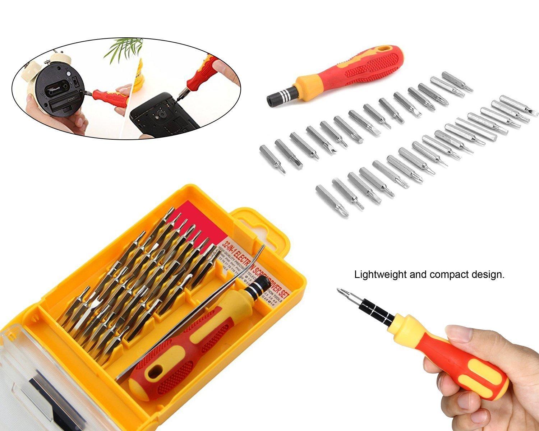 Screwdriver Set  32 in 1 with Magnetic Holder - Unnati Enterprises