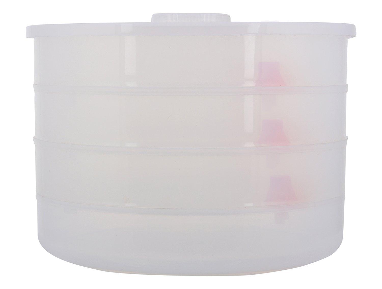 Plastic 4 Compartment Sprout Maker, White - Unnati Enterprises