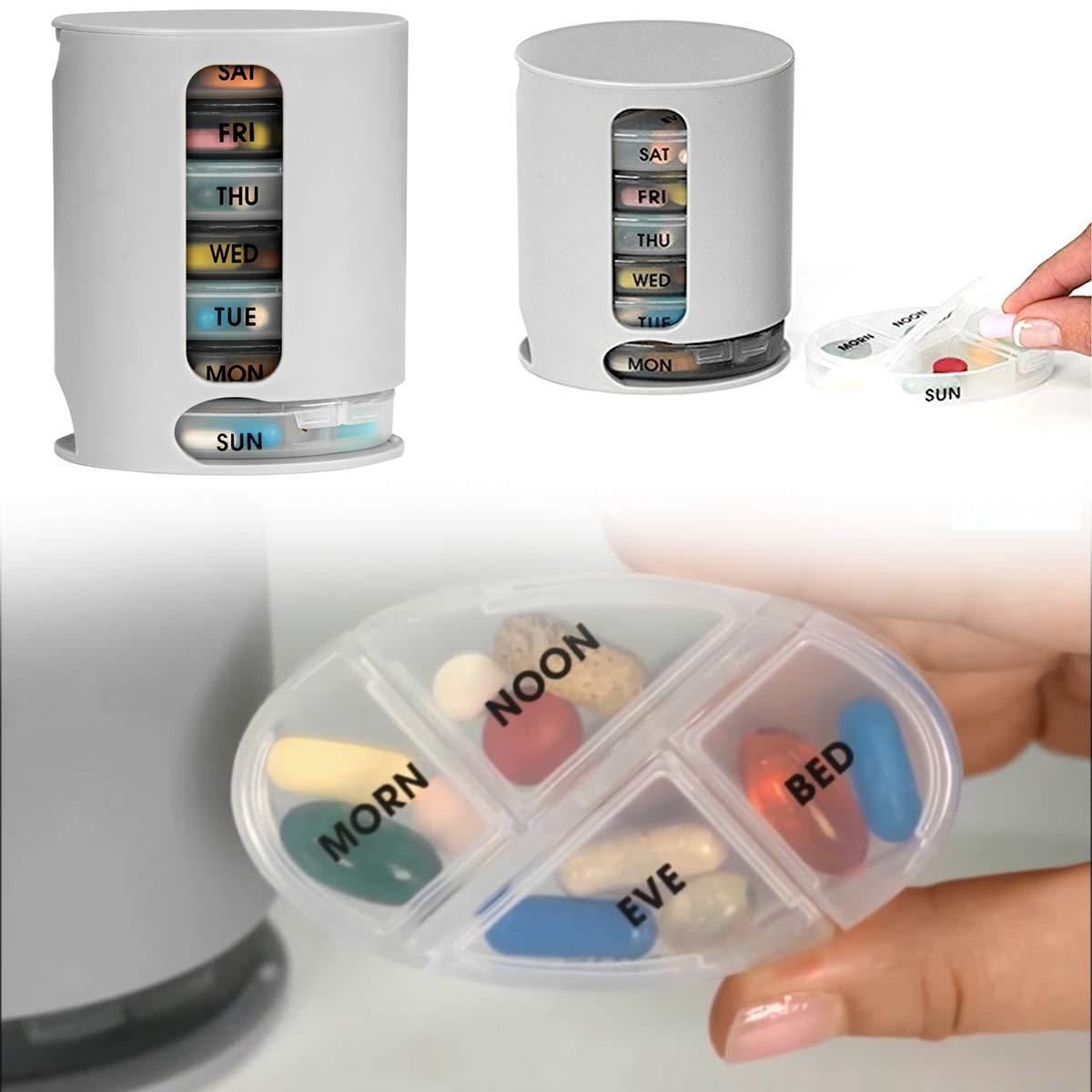 Pill Pro 7 Day Weekly Tablet Medicine Organizer Box - Unnati Enterprises