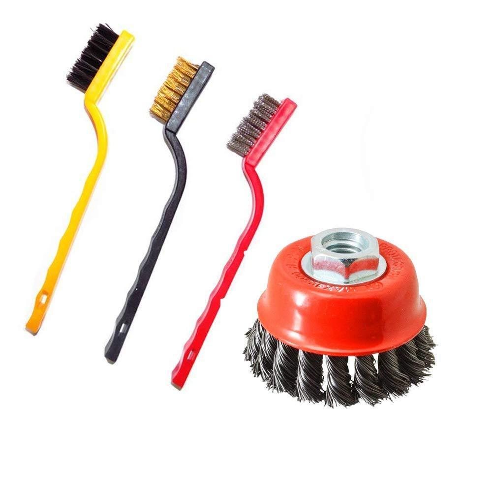 Unnati - Plastic Cleaning Tool Kit Combo (Medium, Multicolour) - Unnati Enterprises